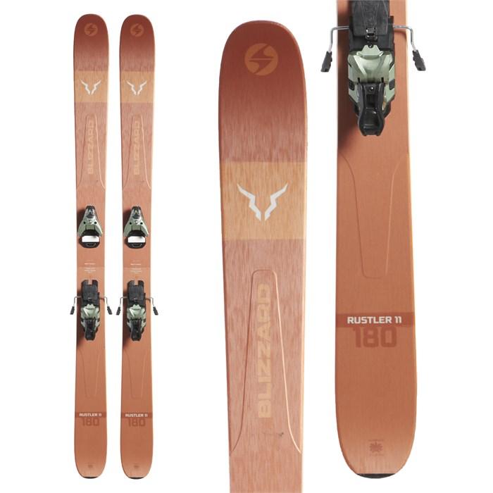 Blizzard - Rustler 11 Skis + Salomon STH2 WTR 16 Bindings 2020 - Used