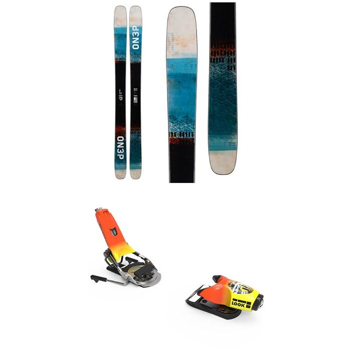 ON3P - Jeffrey 116 Skis + Look Pivot 18 Bindings 2020 - Used