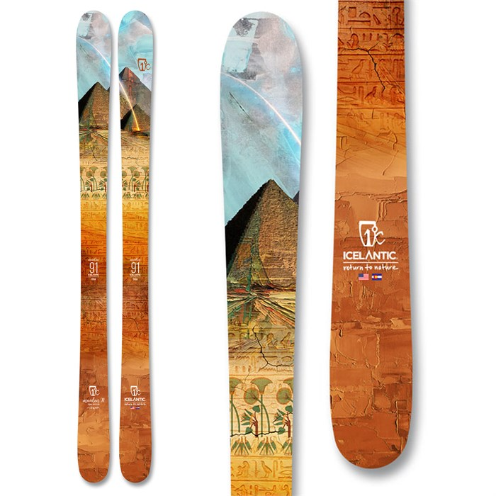Icelantic - Maiden 91 Skis - Women's 2021