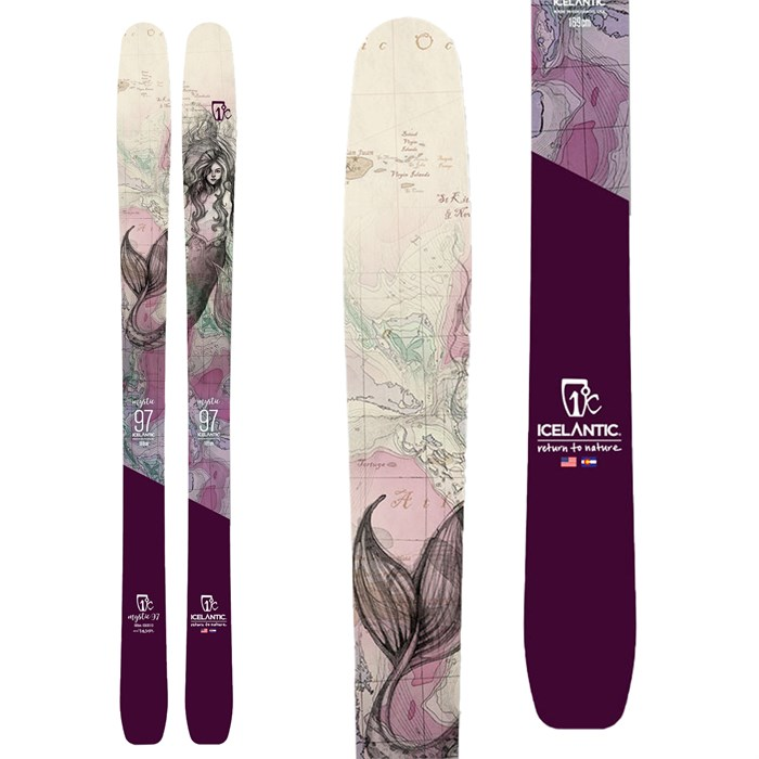 Icelantic - Mystic 97 Skis - Women's 2021