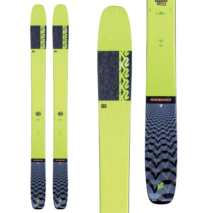 K2 - Mindbender 115 C Alliance Skis - Women's 2021
