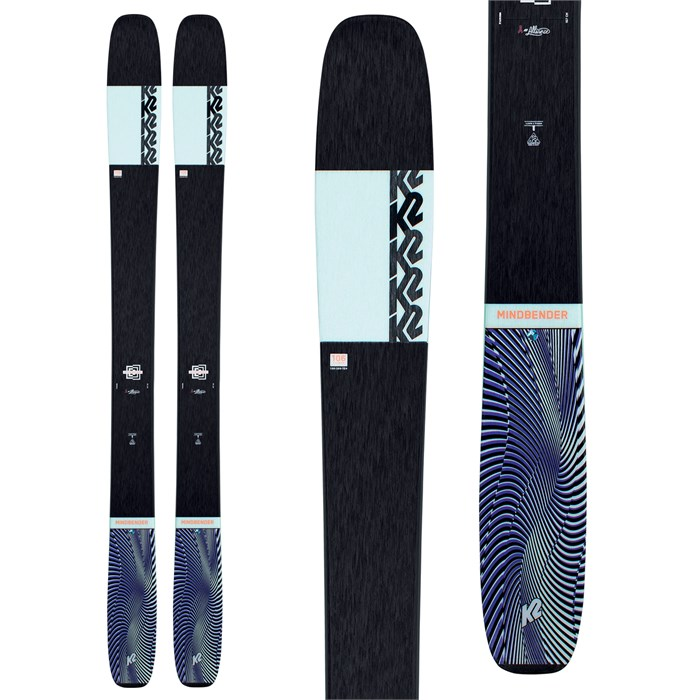 K2 - Mindbender 106 C Alliance Skis - Women's 2021
