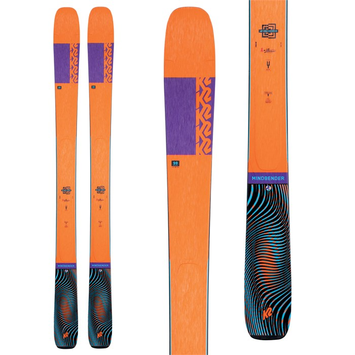 K2 - Mindbender 98Ti Alliance Skis - Women's 2021