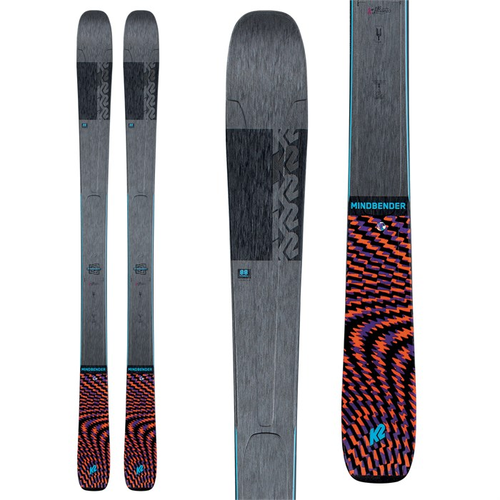 K2 - Mindbender 88Ti Alliance Skis - Women's 2021