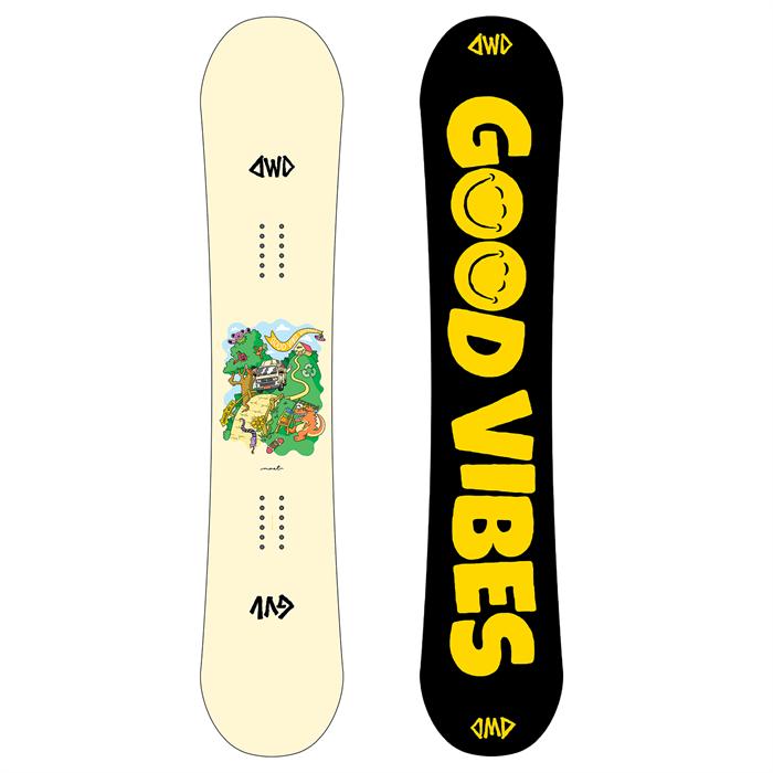 Dinosaurs Will Die - maeT Snowboard 2021