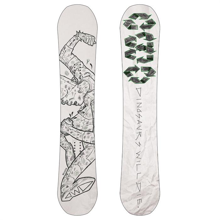 Dinosaurs Will Die - Bilocq Snowboard 2021
