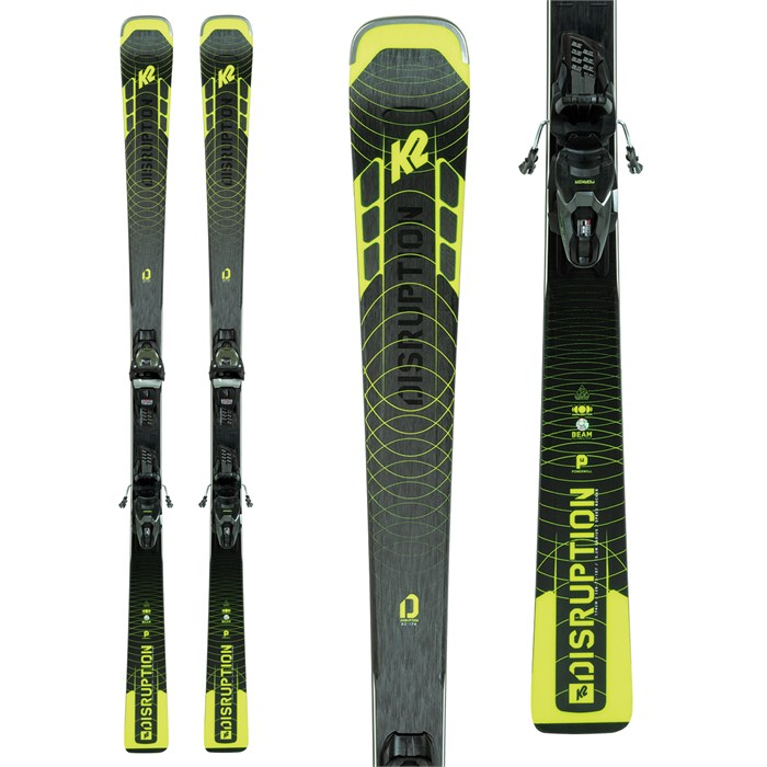 K2 - Disruption SC Alliance Skis + ER3 10 Compact Quikclik Bindings - Women's 2021
