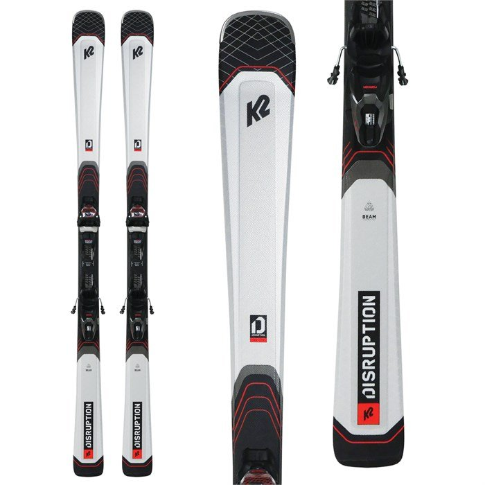 K2 - Disruption 76X Skis + M3 10 Compact Quikclik Bindings 2021