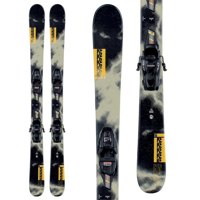 K2 - Poacher Jr Skis + FDT 7.0 Bindings - Boys' 2021