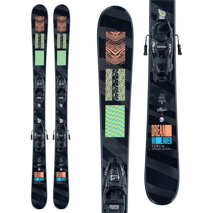 K2 - Dreamweaver Skis + FDT 4.5 Bindings - Girls' 2021