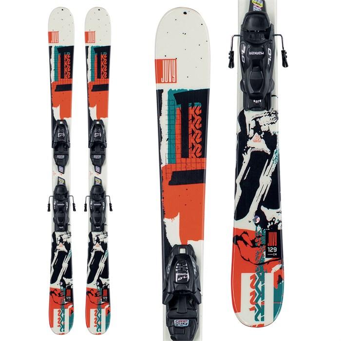K2 - Juvy Skis + FDT 4.5 Bindings - Boys' 2022