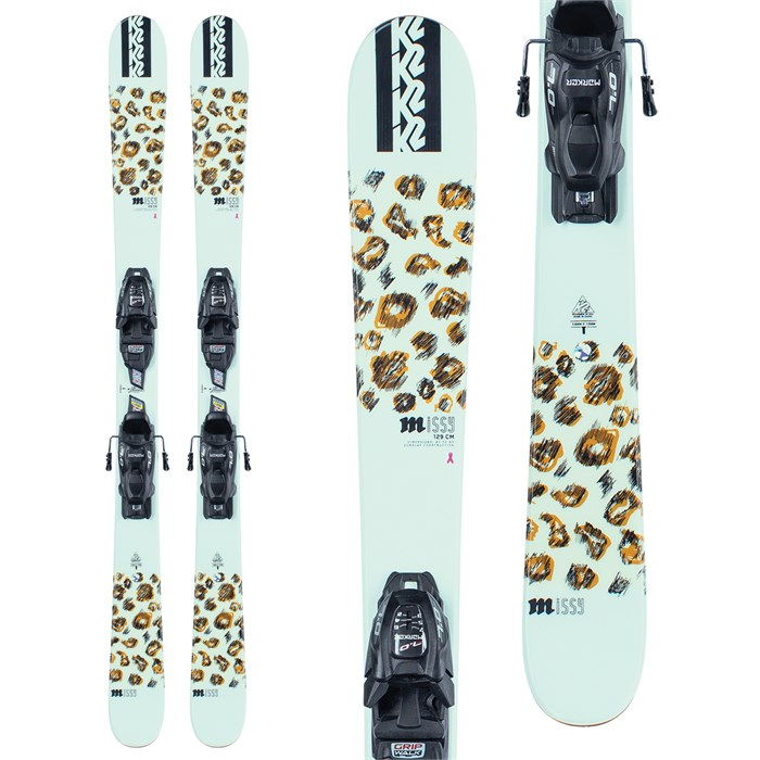 K2 - Missy Skis + FDT 4.5 Bindings - Girls' 2022