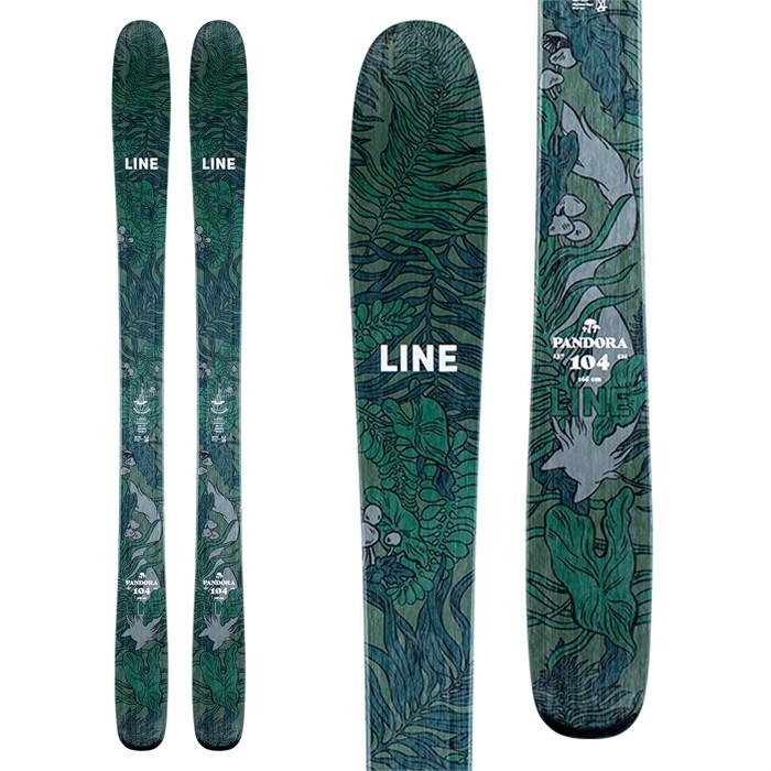 Line Skis - Pandora 104 Skis - Women's 2021