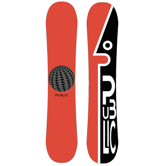 Public Snowboards - General Snowboard 2021 - Used