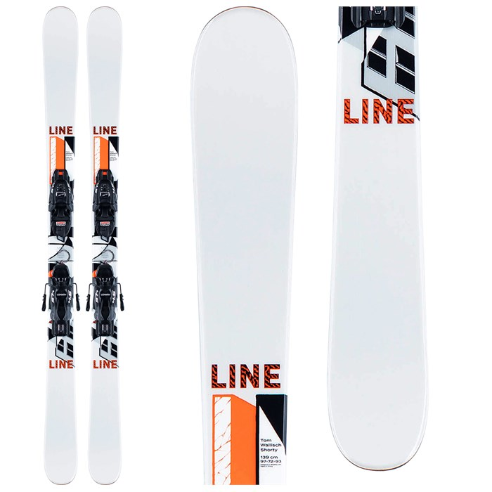 Line Skis - Tom Wallisch Shorty Skis + FTD 4.5 Bindings - Boys' 2021