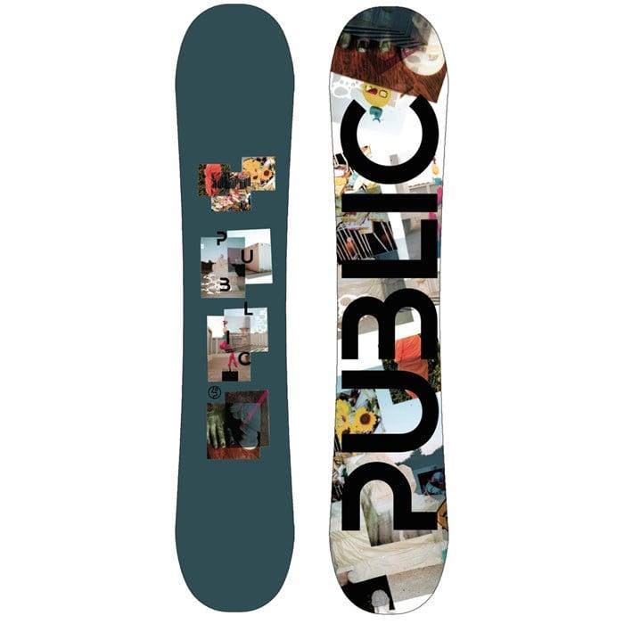 Public Snowboards - Display Mathes Snowboard 2021