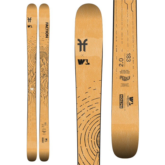 Faction - Prodigy 2.0 x Wells Lamont Collab Skis 2021