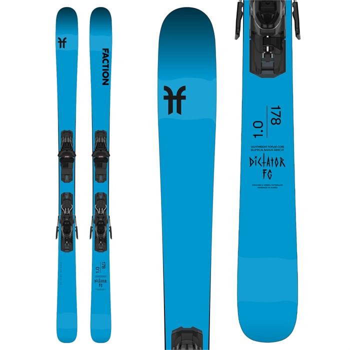 Faction - Dictator FG 1.0 Skis + M11 GW Bindings 2021