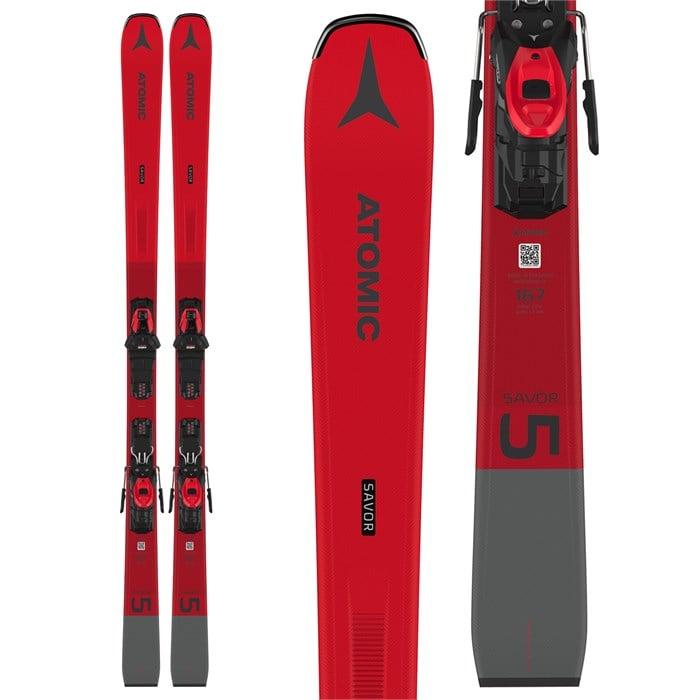 Atomic - Savor 5 Skis + M 10 GW Bindings 2021