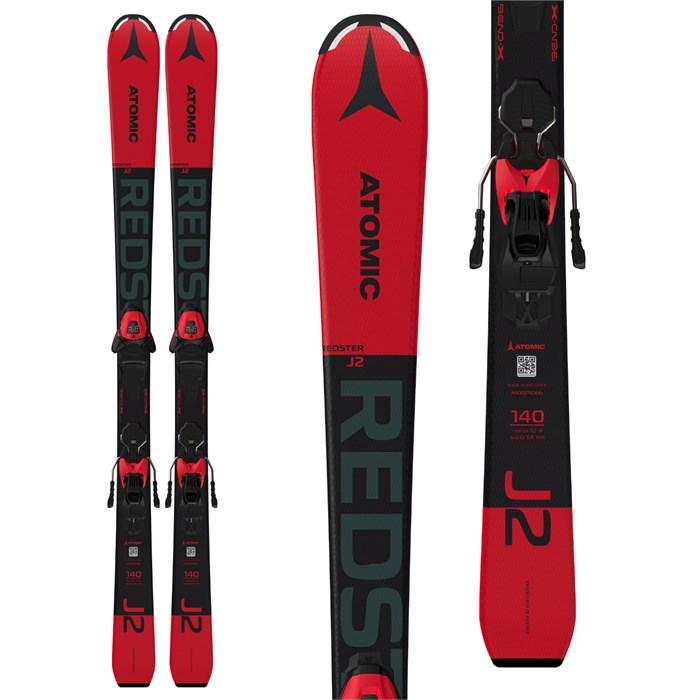 Atomic - Redster J2 Skis + L 6 GW Bindings - Boys' 2022