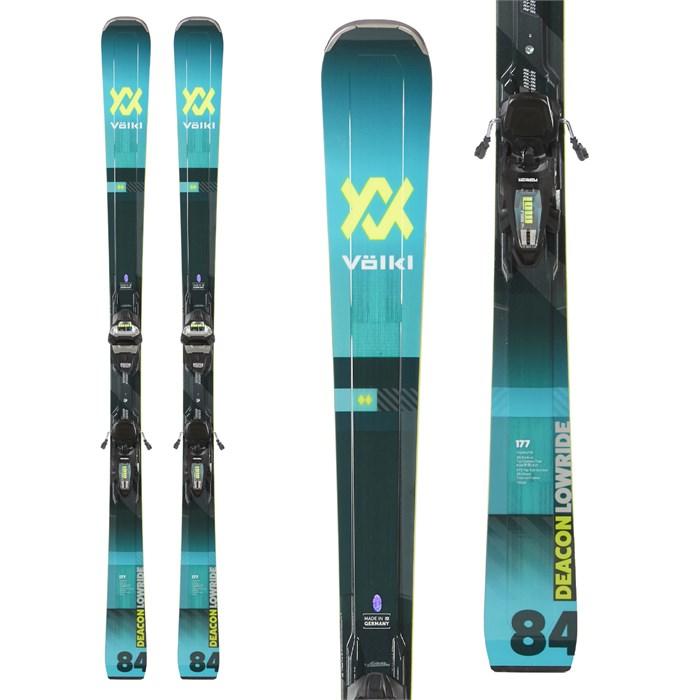 Volkl - Deacon 84 Skis + LR XL 13 FR D GW Bindings 2020 - Used