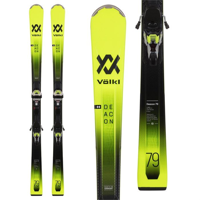 Volkl - Deacon 79 Skis + iPT WR XL 12 TCX GW Bindings 2021