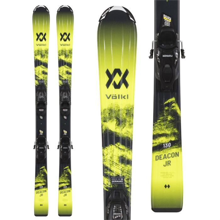 Volkl - Deacon Junior Skis + 7.0 vMotion Bindings - Boys' 2021