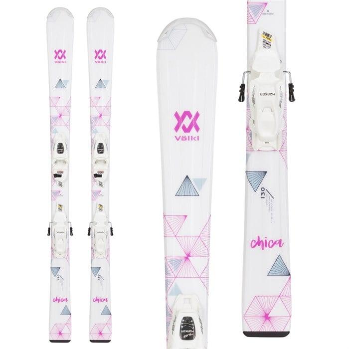 Volkl - Chica Skis + 4.5 vMotion Jr Bindings - Girls' 2021