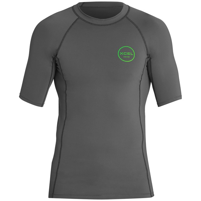 XCEL - Premium Stretch Short Sleeve Performance Fit Rashguard