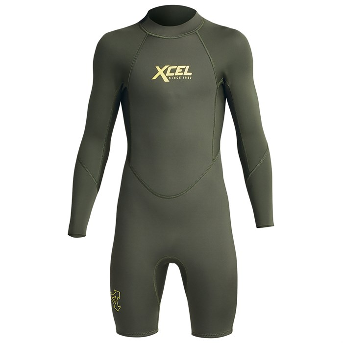 XCEL - 2mm Axis Long Sleeve Spring Suit - Kids'