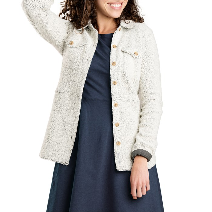 Toad & Co - Telluride Sherpa Shirt Jacket - Women's