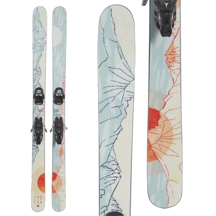 Coalition Snow - SOS Skis + Atomic Warden MNC 13 Bindings - Women's 2020 - Used