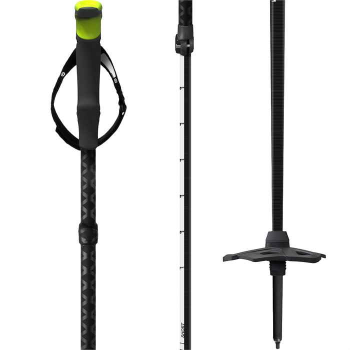 G3 - Via Carbon Adjustable Ski Poles 2021