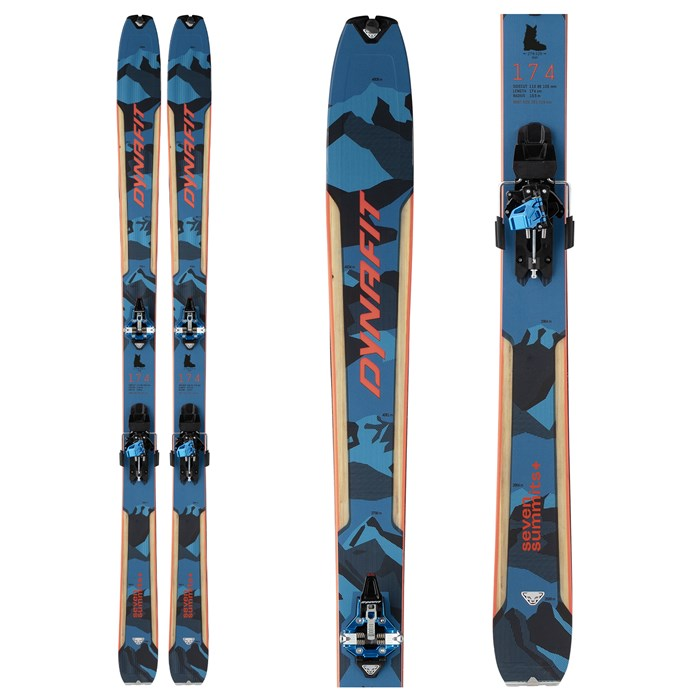 Dynafit - Seven Summits+ Complete Alpine Touring Ski Set 2022