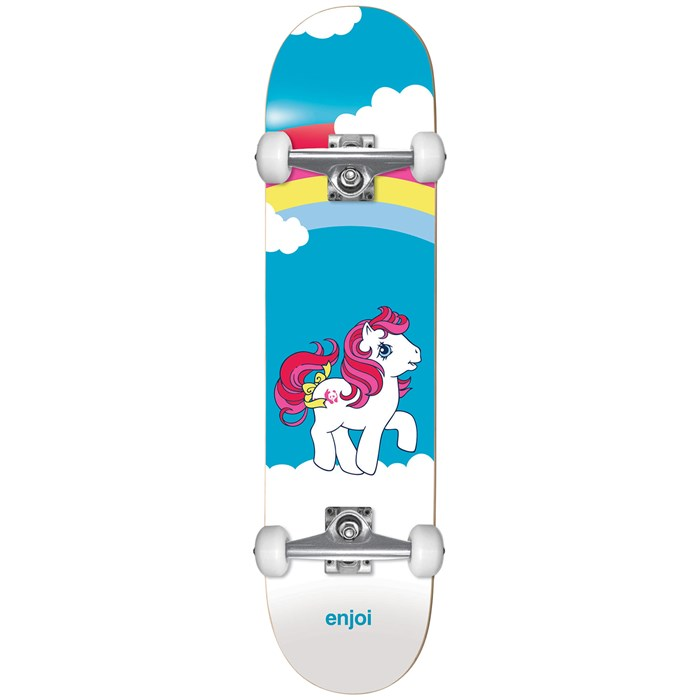 Enjoi - My First Pony Youth Soft Top 6.75 Skateboard Complete - Kids'
