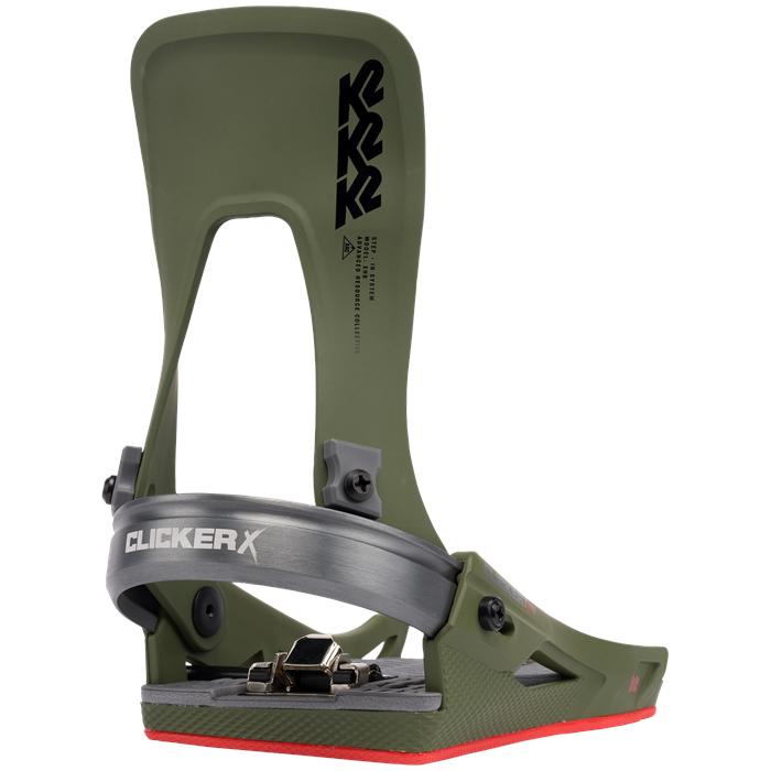 K2 - Clicker X HB Snowboard Bindings 2022