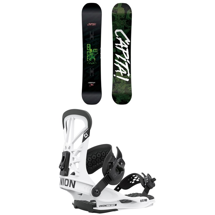 CAPiTA - Horrorscope Snowboard + Union Flite Pro Snowboard Bindings 2021