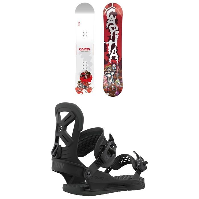 CAPiTA - Scott Stevens Mini Snowboard + Union Cadet Pro Snowboard Bindings - Kids' 2021