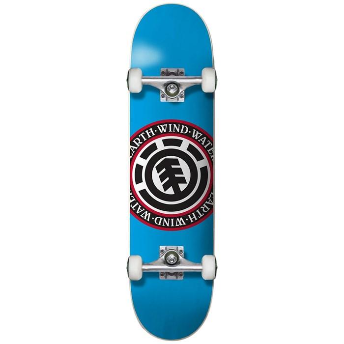 Element - Seal Blue 7.375 Skateboard Complete - Big Kids'
