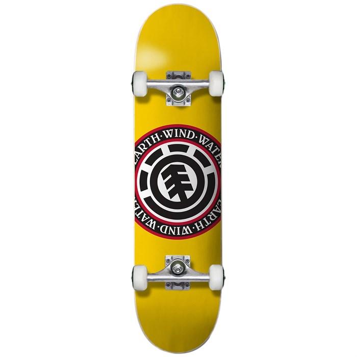 Element - Seal Yellow 7.25 Skateboard Complete - Big Kids'