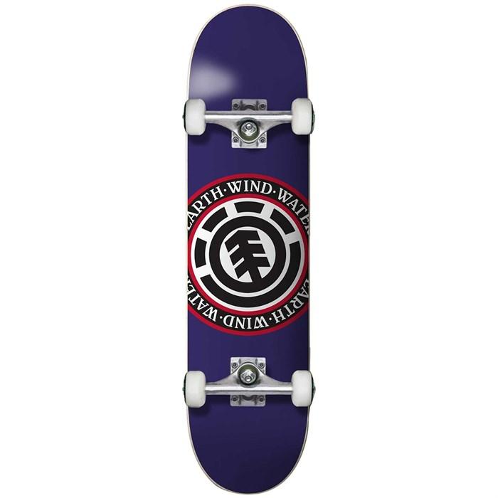 Element - Seal Purple 7.125 Skateboard Complete - Big Kids'