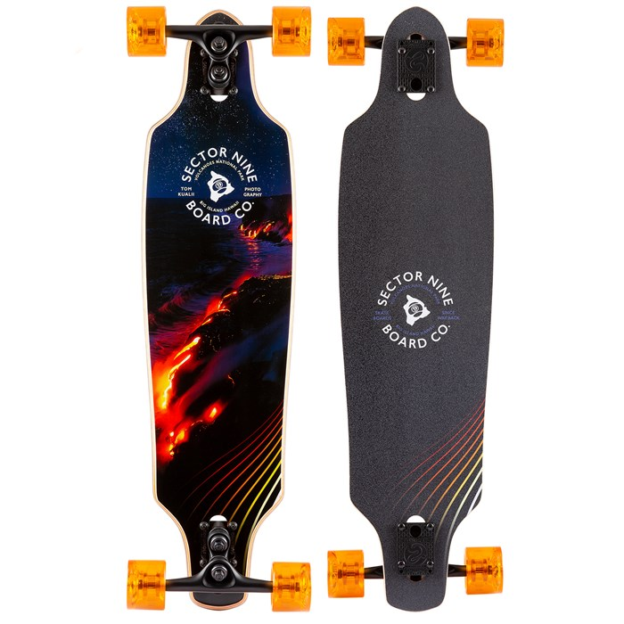 Sector 9 - Lava Roundhouse Longboard Complete