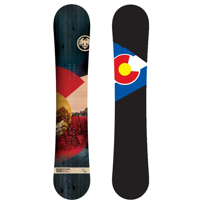 Never Summer - Heritage DF Snowboard 2021