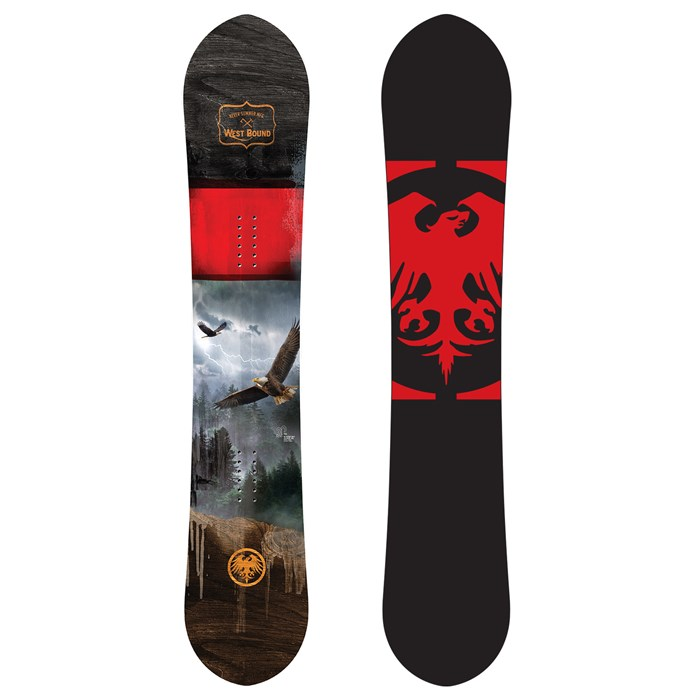 Never Summer - West Bound Snowboard 2021