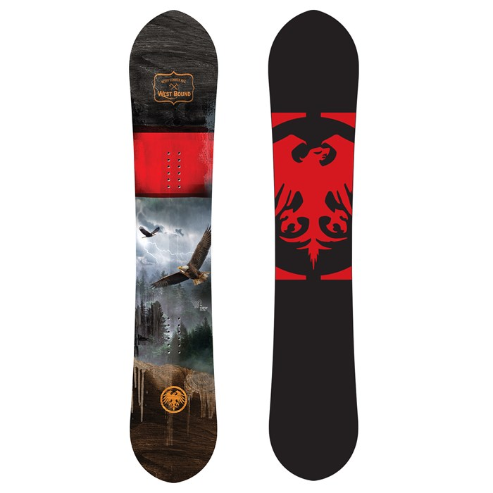 Never Summer - West Bound DF Snowboard 2021