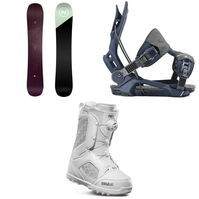 Nidecker - Venus Snowboard + Flow Mayon Snowboard Bindings + thirtytwo STW Boa Snowboard Boots - Women's 2020