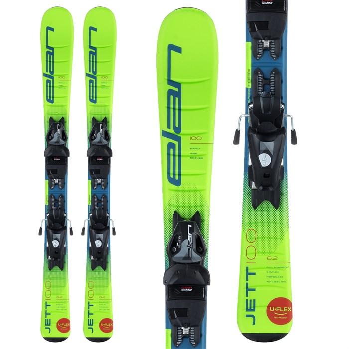Elan - Jett QS Skis + EL 7.5 Bindings - Boys' 2021