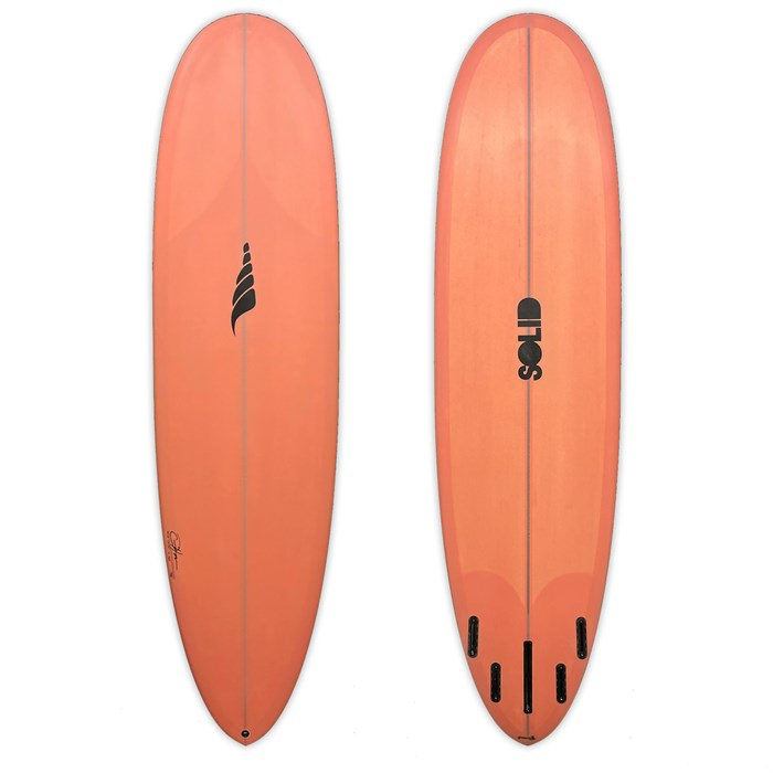 Solid Surf Co EZ Street Surfboard five fin