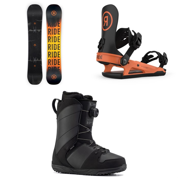 Ride - Agenda Snowboard + C-2 Snowboard Bindings + Anthem Snowboard Boots 2021
