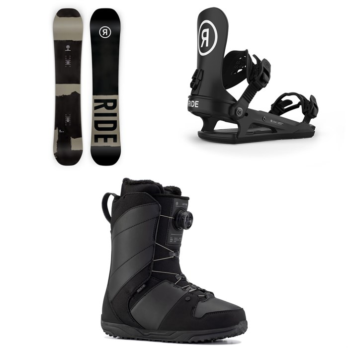 Ride - Manic Snowboard + C-2 Snowboard Bindings + Anthem Snowboard Boots 2021
